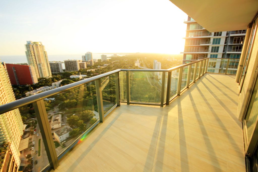 Unit 3506 at SLS Brickell - Wraparound Balcony