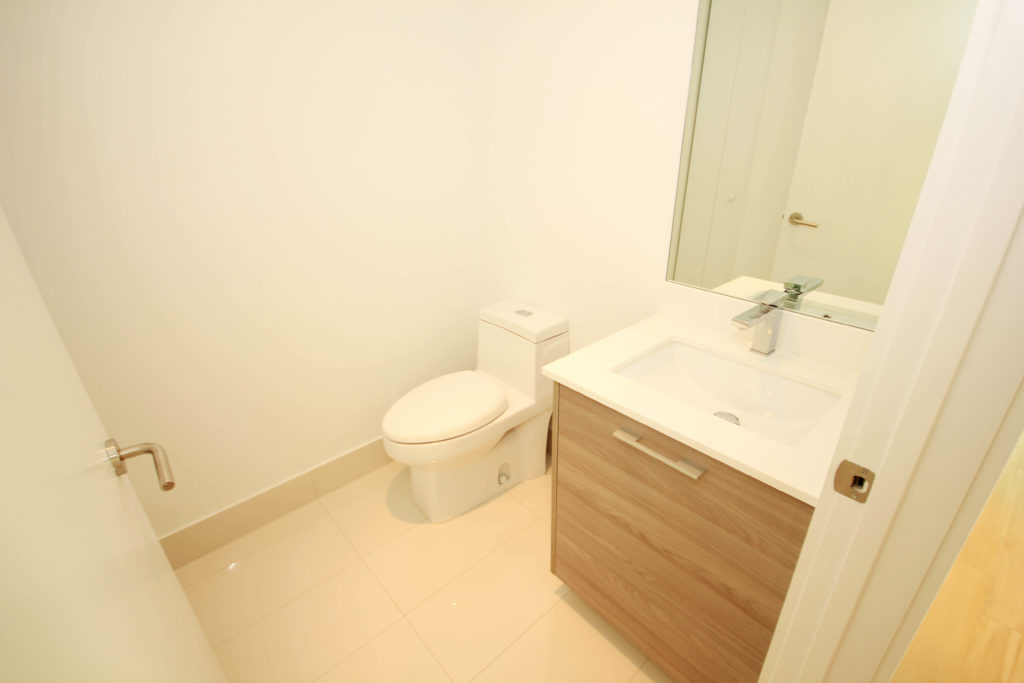 Unit 3506 at SLS Brickell - Half Bathroom
